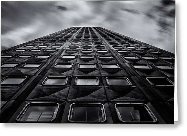 Pittsburgh Architecture 5bw Greeting Card by Emmanuel Panagiotakis