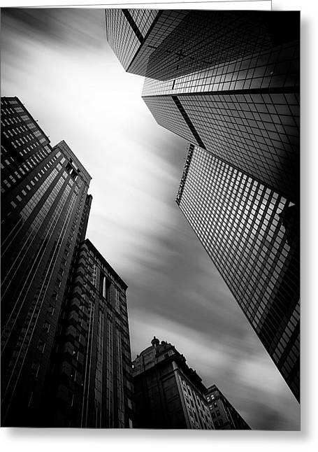 Pittsburgh Architecture 65bw Greeting Card by Emmanuel Panagiotakis