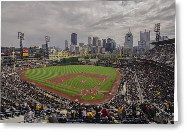 Pittsburgh Pirates Pnc Park Bucs Greeting Card