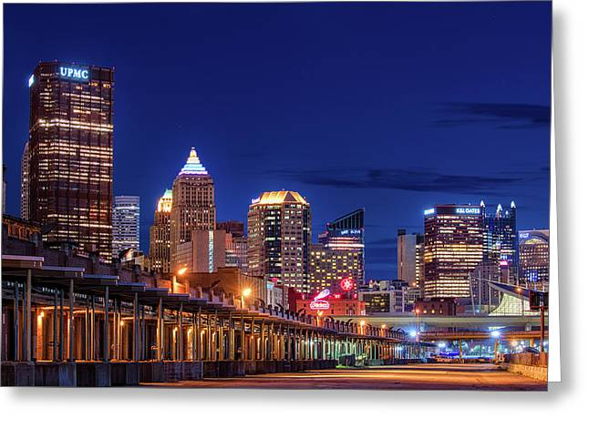 Pittsburgh Strip District 2 Greeting Card