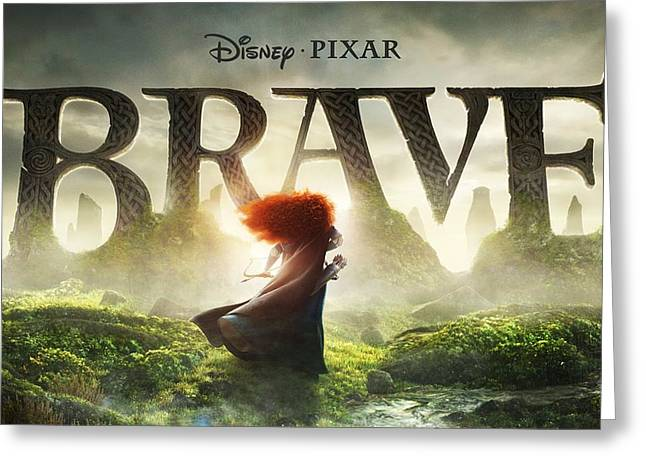 Pixar Brave 2012 Greeting Card