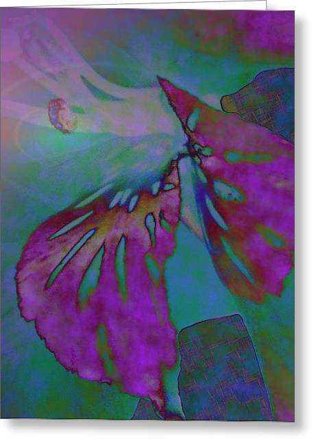 Pixie Spring Fantasy Greeting Card by Debra     Vatalaro
