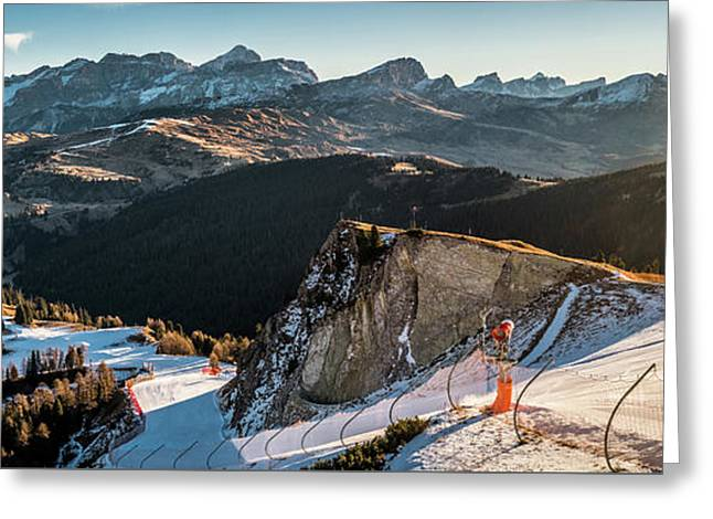 Piz Boe - Alta Badia, Italy - Landscape Photography Greeting Card by Giuseppe Milo