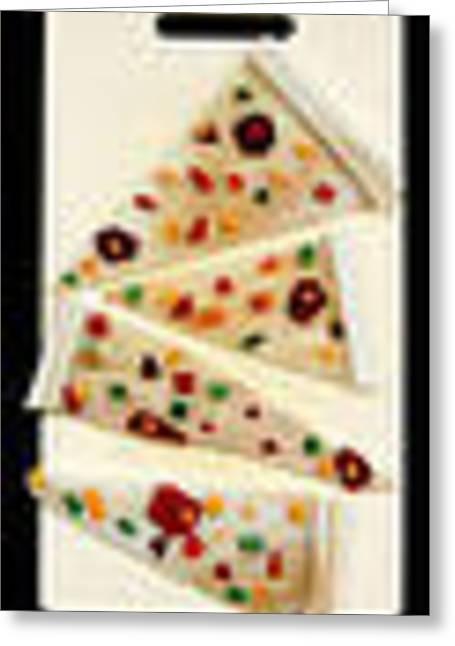 Pizza Greeting Card by Diane Morizio