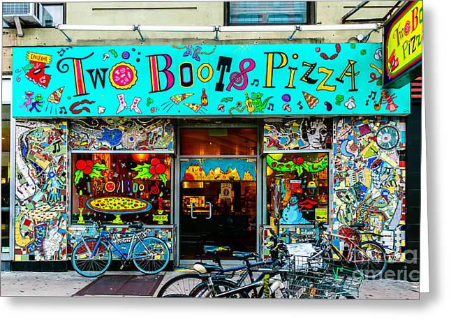 Pizza Nyc 1 Greeting Card
