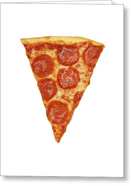 Pizza Slice Greeting Card