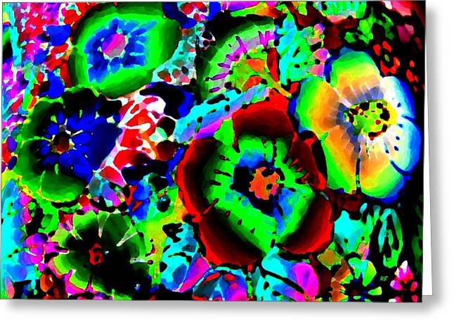 Pizzazz 15  Greeting Card by Will Borden