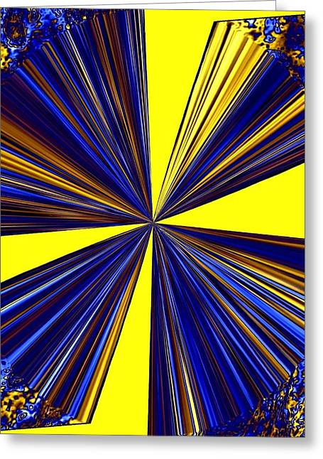 Pizzazz 20 Greeting Card by Will Borden