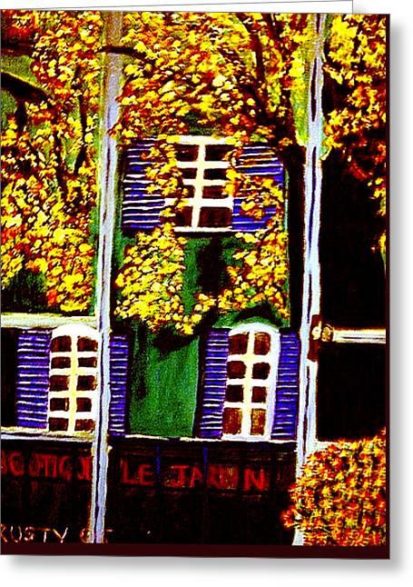 Place De La Paix Greeting Card