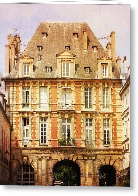 Place Des Vosges Greeting Card by Heidi Hermes