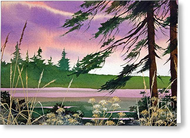 Place Of Dreams Greeting Card by James Williamson