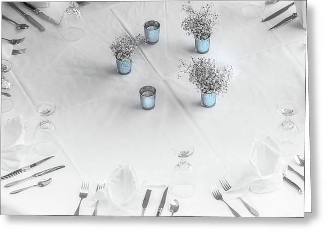 Place Settings Greeting Card