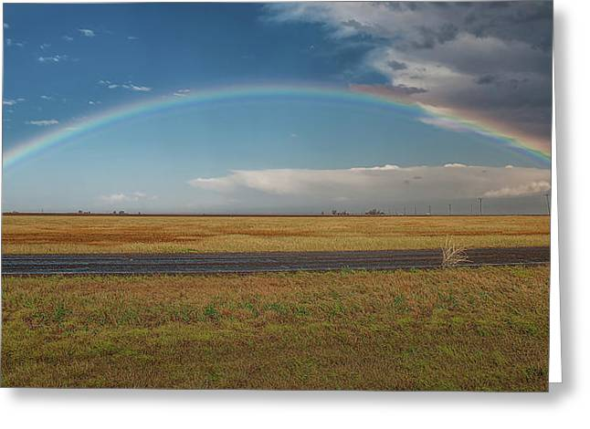 Plainview Rainbow Greeting Card