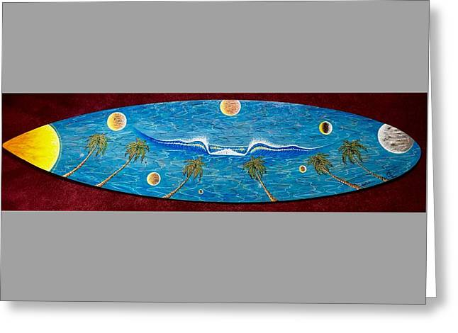 Planet Surf  Greeting Card