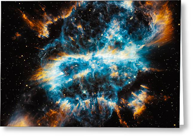 Planetary Nebula Ngc 5189 Greeting Card by Marco Oliveira