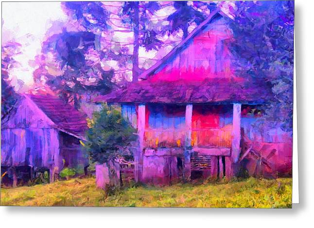 Plank Homes Greeting Card