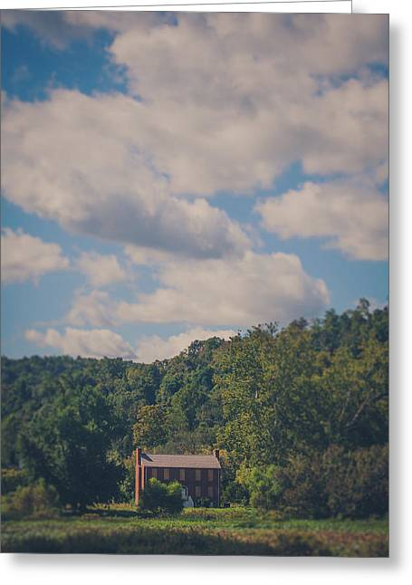 Greeting Card featuring the photograph Plantation House by Shane Holsclaw