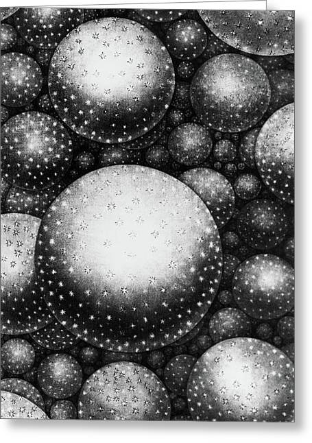 Plate Xxxi From The Original Theory Of The Universe By Thomas Wright  Greeting Card