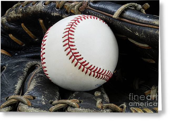 Play Ball Greeting Card by Douglas Miller