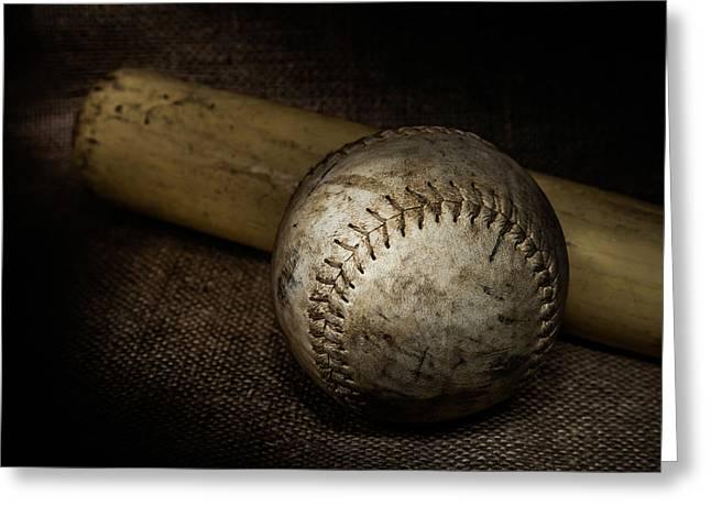 Play Ball Greeting Card by Erin Cadigan