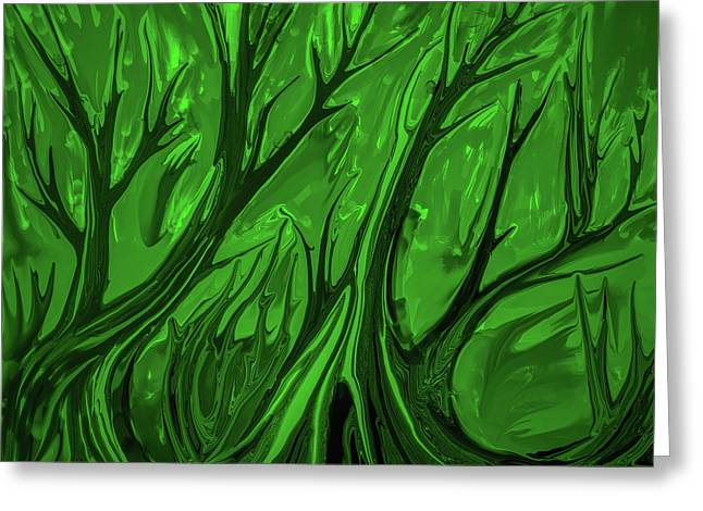 Play Green #h6 Greeting Card