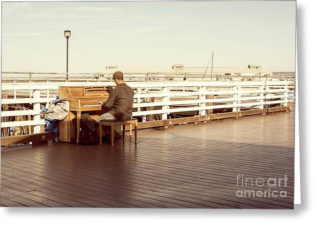Play Me, I'm Yours Greeting Card