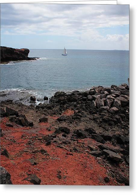 Playa Blanca - Lanzarote Greeting Card