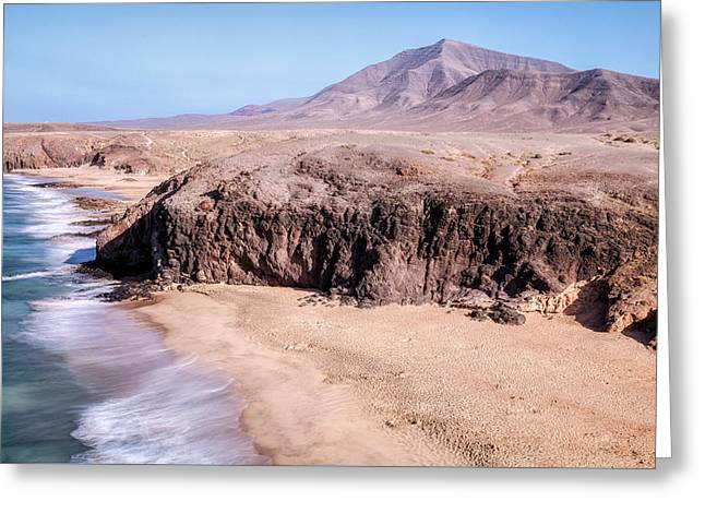 Playa Del Pozo - Lanzarote Greeting Card