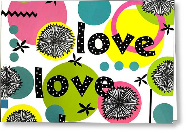 Playful Love Greeting Card