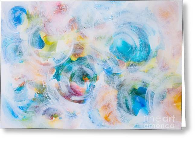 Whispers, Tropical Greeting Card by Korrine Holt