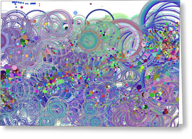 Playtime 2 Greeting Card by Michelle  BarlondSmith