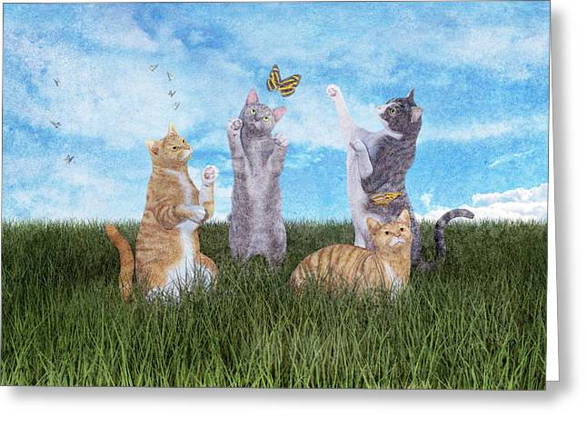 Playtime  Greeting Card