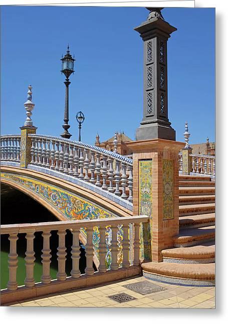 Plaza De Espana, Seville Greeting Card