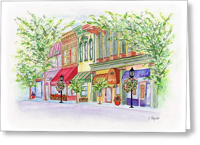 Plaza Shops Greeting Card