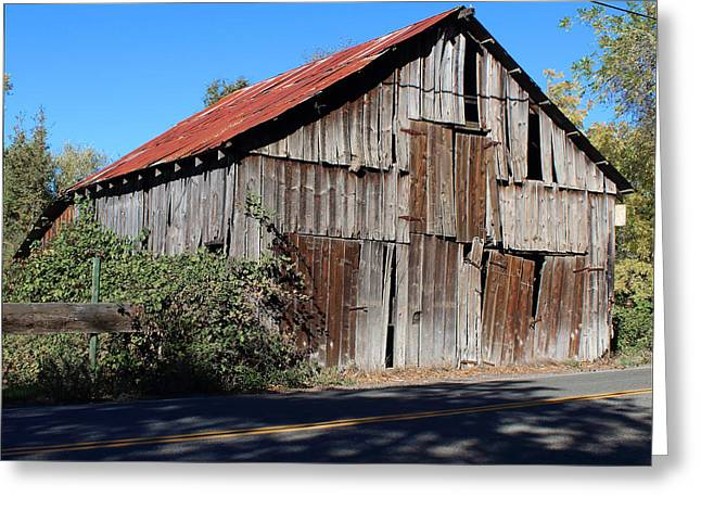 Pleasant Valley Barn 8 Greeting Card