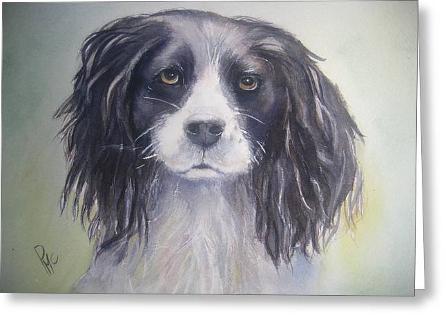 Pleeeese Play Greeting Card by Patricia Pushaw