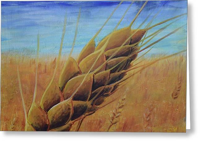Plentiful Harvest Greeting Card