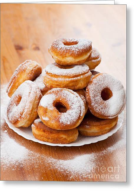 Plenty Doughnuts Or Donuts With Holes  Greeting Card
