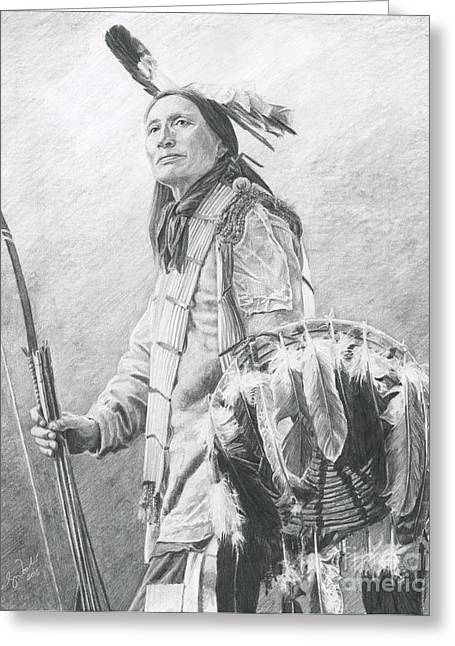 Taopi Ota - Lakota Sioux Greeting Card