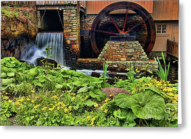Plimouth Grist Mill Greeting Card