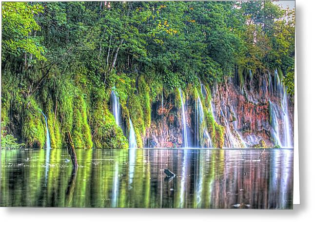 Plitvice Lakes Greeting Card