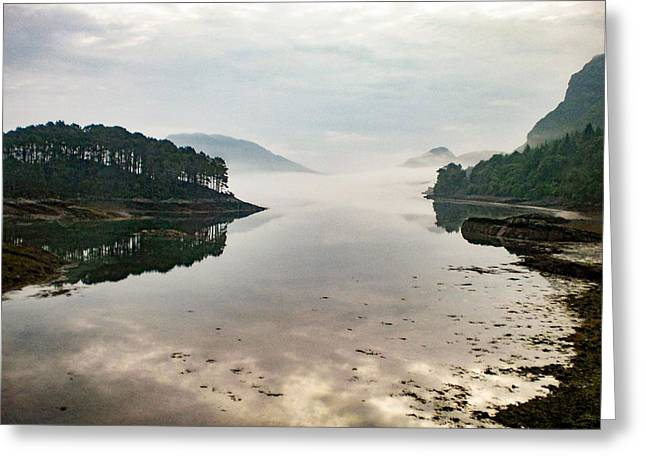 Plockton, Highlands, Scotland,  Greeting Card