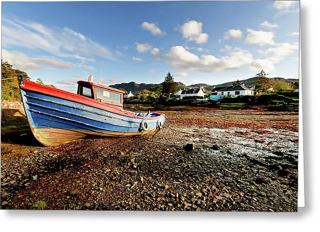 Plockton Greeting Card