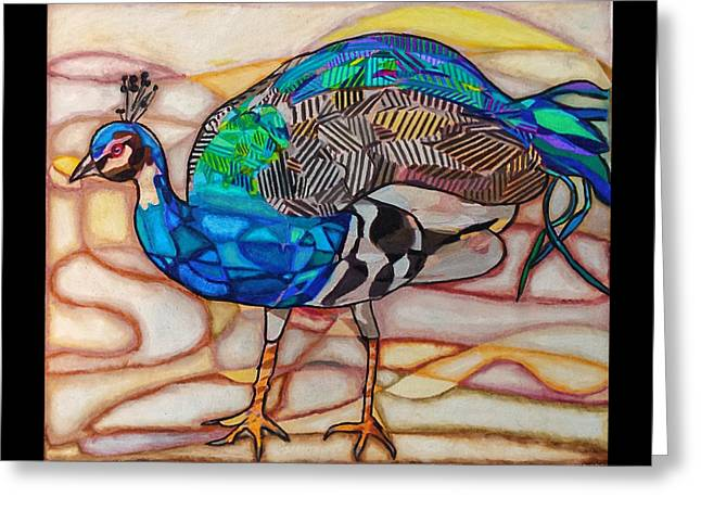 Plumage Greeting Card by Michelle Brooksbank