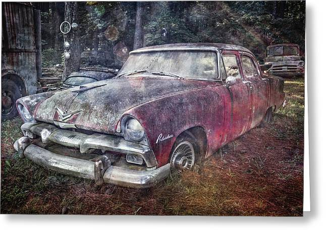 Greeting Card featuring the photograph Plymouth Belvedere by Debra and Dave Vanderlaan