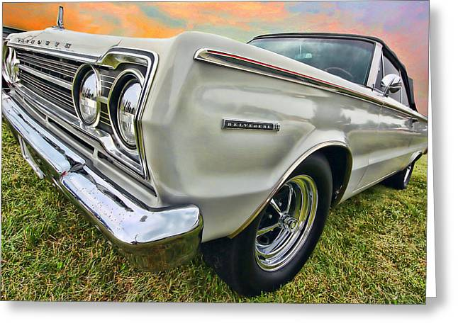 Plymouth Belvedere II  Greeting Card by Gordon Dean II