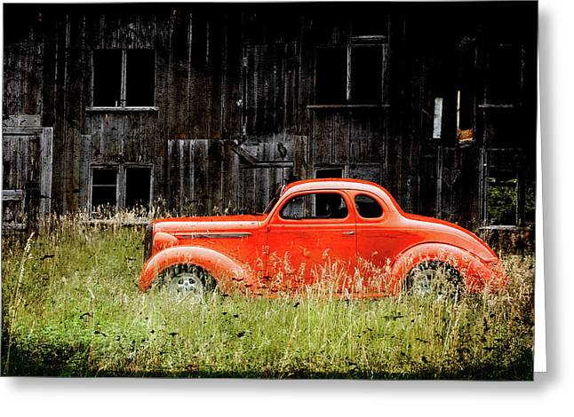 Plymouth Hot Rod Greeting Card