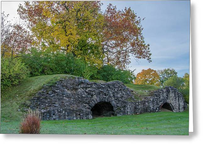 Plymouth Meeting - Ancient Lime Kiln Greeting Card