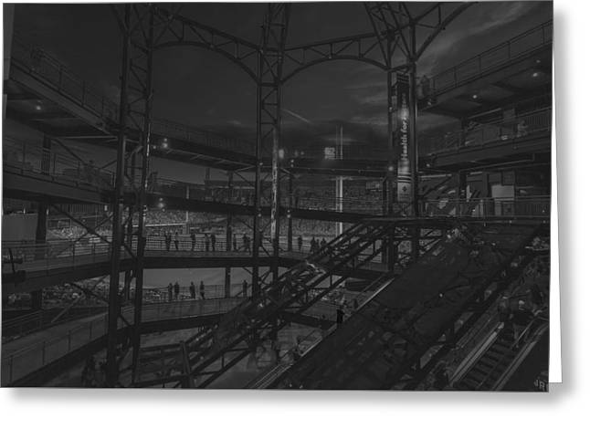 Pnc Park Pittsburgh Pirates  Greeting Card by David Haskett