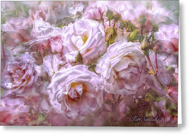 Pocket Full Of Roses Greeting Card